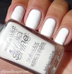 Wet N Wild French White Creme Swatch