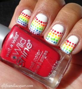 Rainbow Nails Swatch