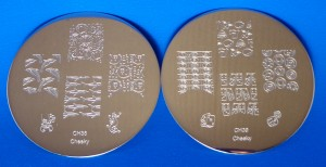Cheeky Stamping Plates CH38 CH39
