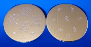 Cheeky Stamping Plates CH42 CH43