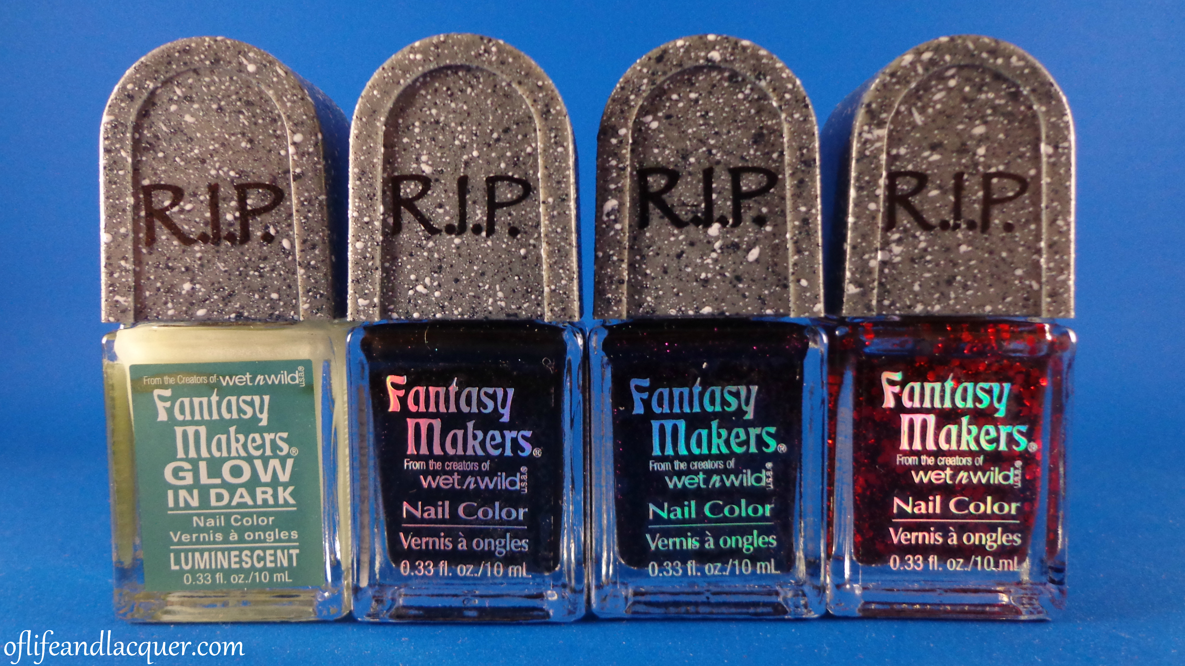 Wet N Wild Fantasy Makers Nail Polish Set for Halloween 2012