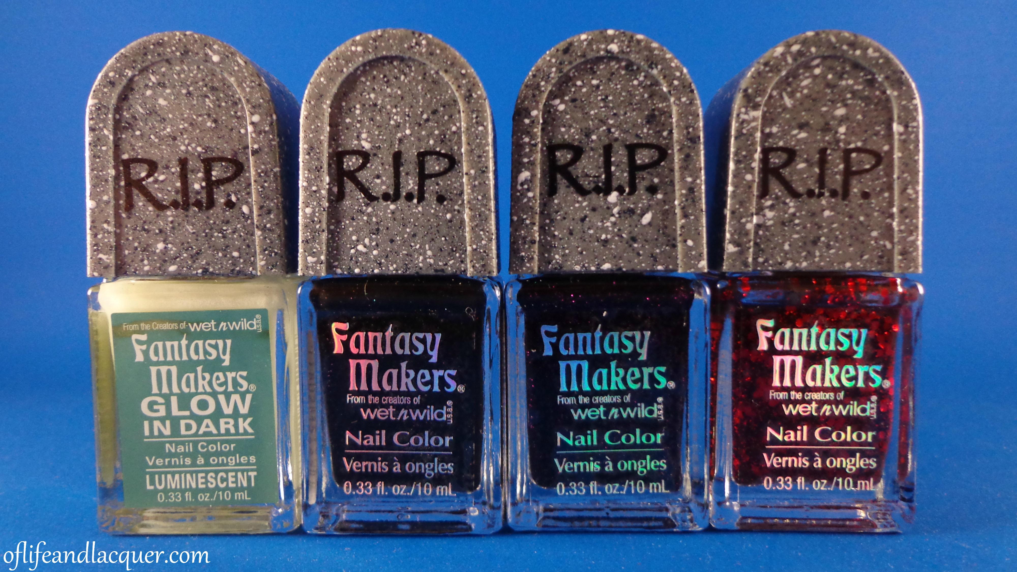 Wet N Wild Fantasy Makers Nail Polish Set for Halloween 2012