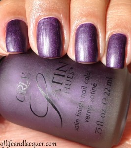 Orly Satin Hues Satin Finesse Swatch