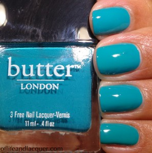 Butter London Slapper Swatch