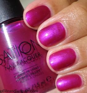 Sation Violet Sapphire Swatch