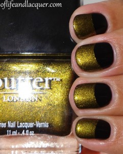 essence Black Is Black and Butter London Wallis Half Moon
