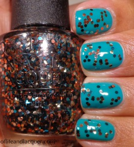 Butter London Slapper OPI The Living Daylights Swatch