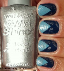 Sation Rock-a-guy Blue Blue Sky's The Limit Chevron Stamping BM 315