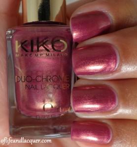 Kiko #397 Aureus Pomegranate Swatch