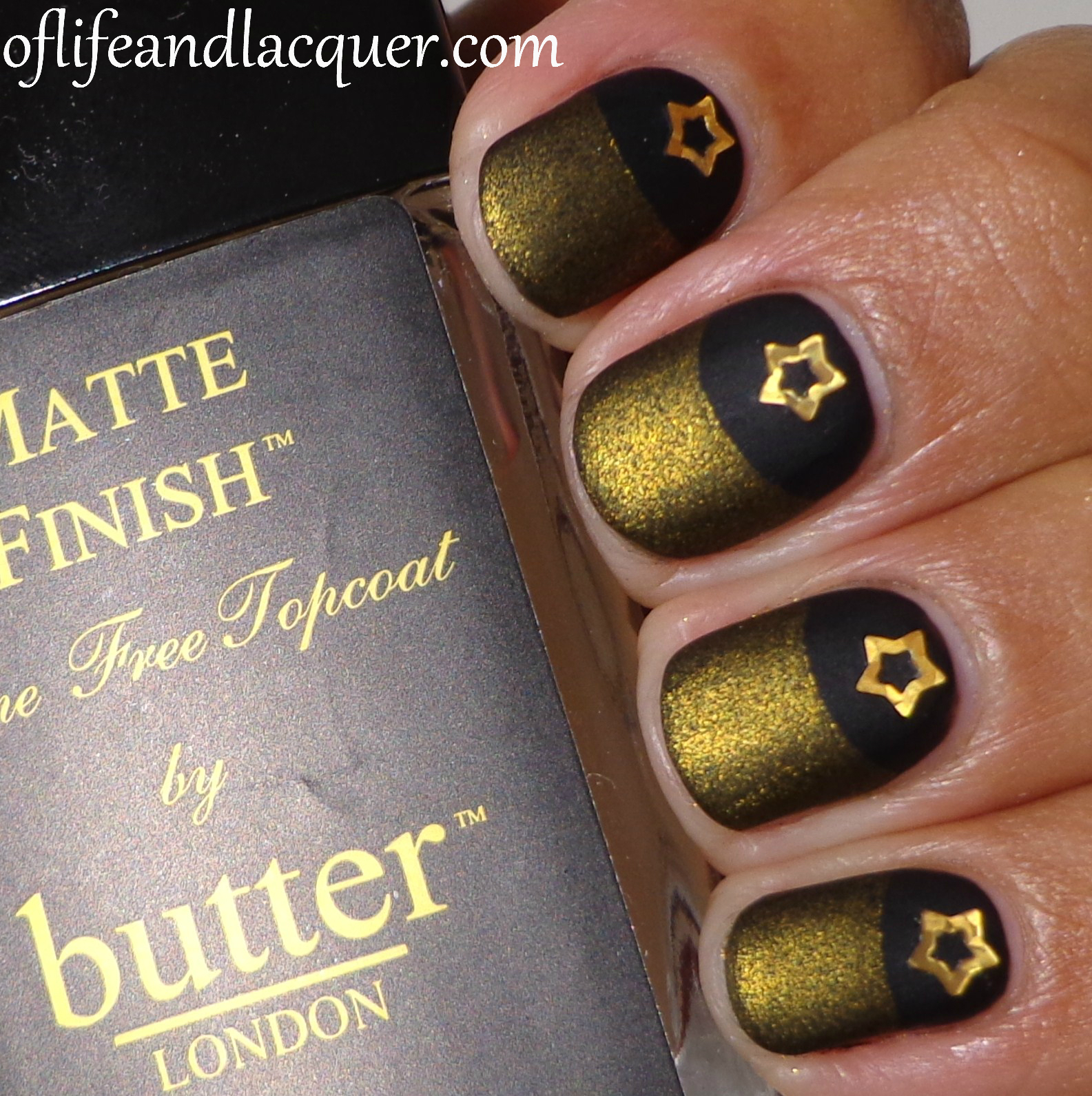 Essence Black Is Black And Butter London Wallis Half Moon Matte Of
