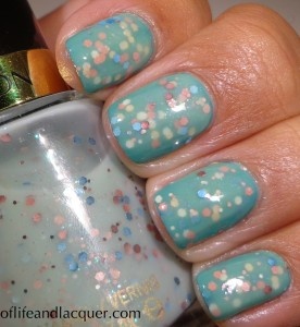 Butter London Slapper OPI The Living Daylights Revlon Whimsical Swatch