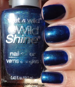 Wet N Wild Blue Moon Swatch