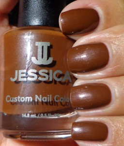 Jessica Brown Sugar Swatch