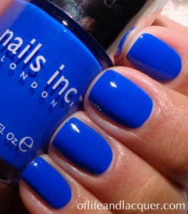Nails Inc. Baker Street Swatch