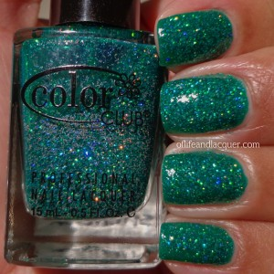 Color Club Holiday Splendor Swatch