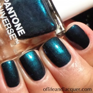 Sephora + Pantone Universe Jewel Lacquer Reflecting Pond Swatch