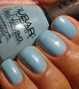 Nubar Faded Jeans Swatch
