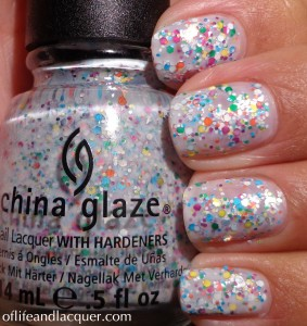 China Glaze It's A Trap-eze! Swatch