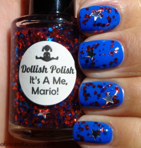 Dollish Polish It's A Me, Mario! Swatch