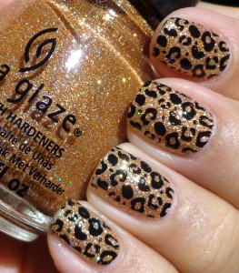 China Glaze I Herd That Konad M57