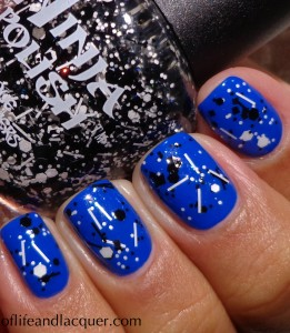 Nails Inc. Baker Street Swatch Cover Band Sticks 'n Stones Swatch