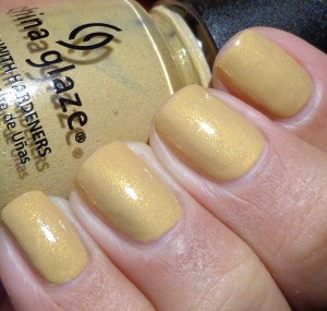 China Glaze Classic Camel Swatch