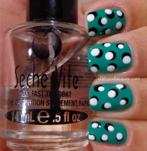 Bourjois Vert Chlorophylle with dot design