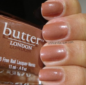 Butter London Aston Swatch