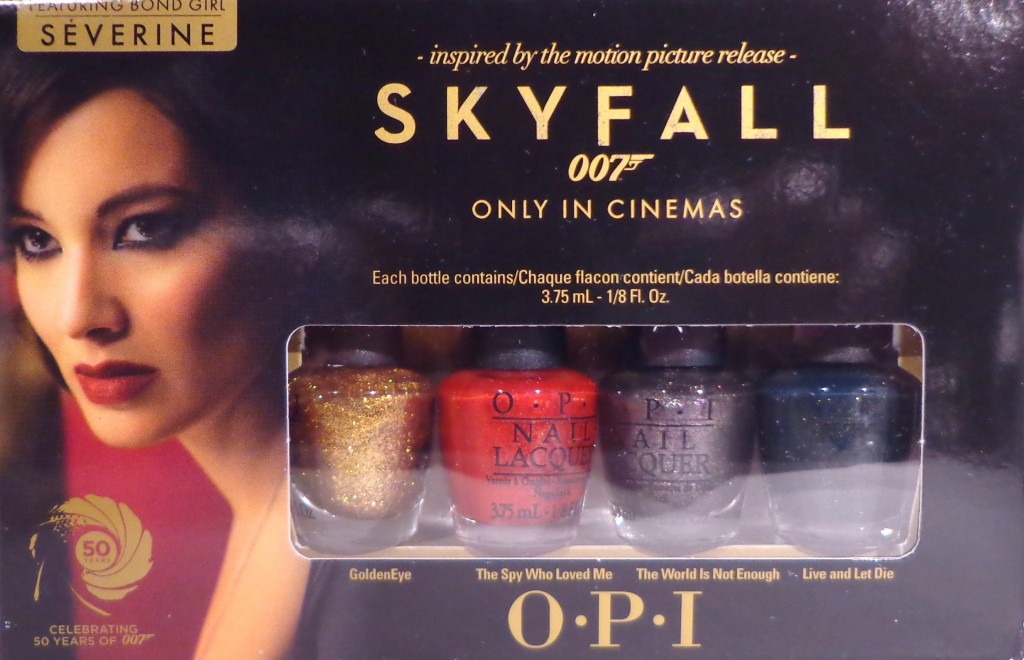 OPI Skyfall Minis Nail Polish Giveaway 