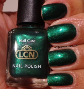 LCN Green Emerald Swatch
