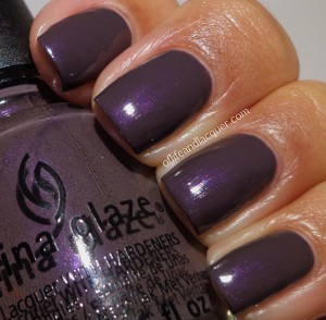 China Glaze Jungle Queen Swatch