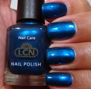 LCN Blue Sapphire Swatch