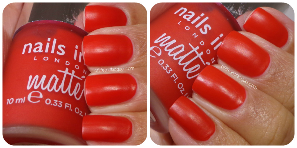 Nails Inc. Gatwick Swatch