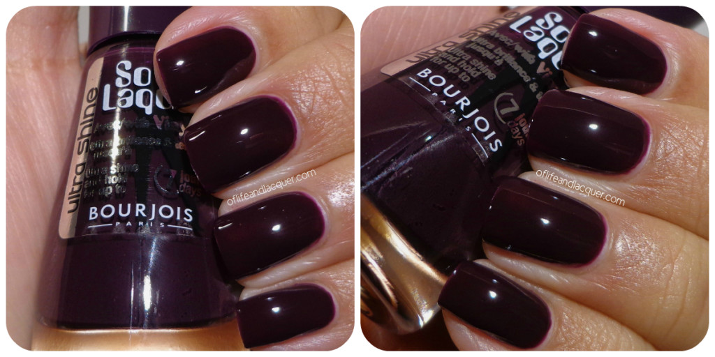 Bourjois Violine Chic Swatch