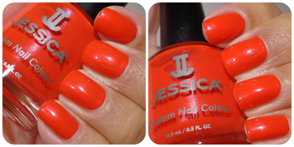 Jessica Ruby Empress Swatch