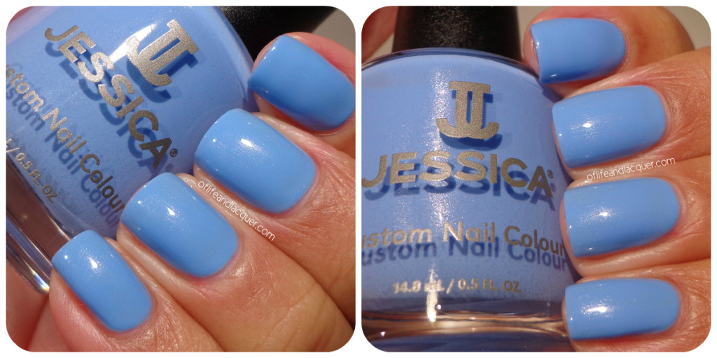 Jessica True Blue Swatch