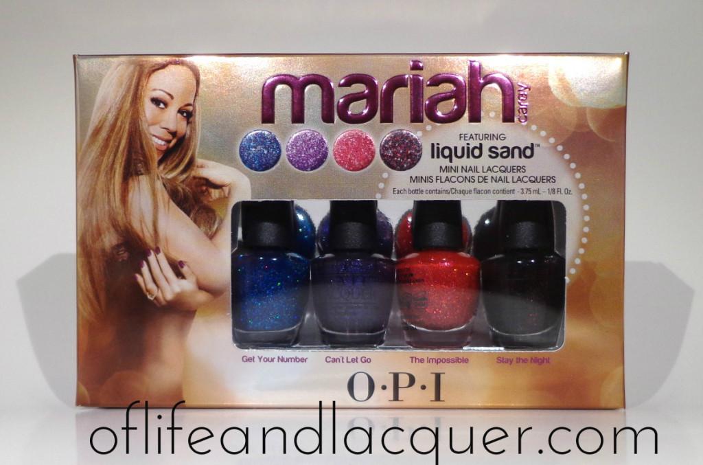 OPI Liquid Sand Minis Giveaway