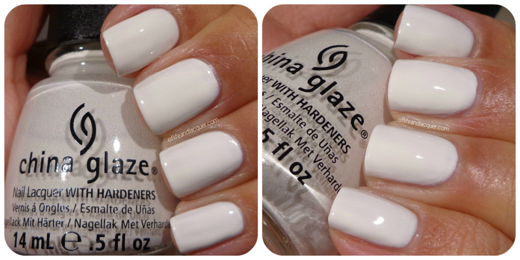 China Glaze White Out Swatch