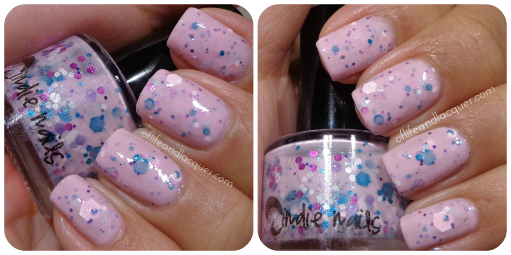 Jindie Nails Strawberry Cupcake Swatch