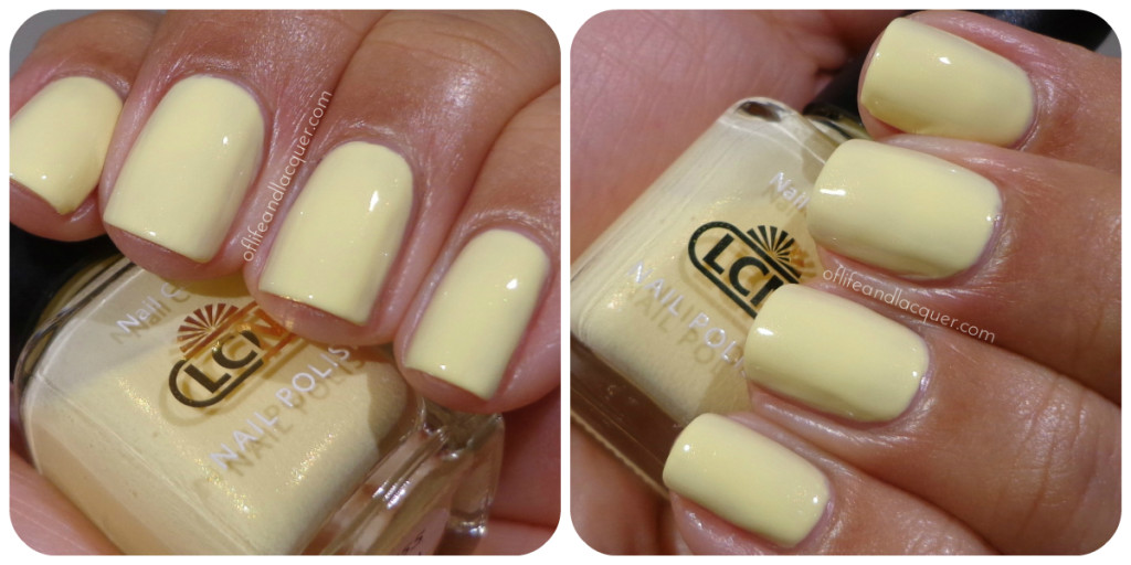 LCN Soft Daisy Swatch