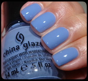 China Glaze Fade Into Hue Swatch