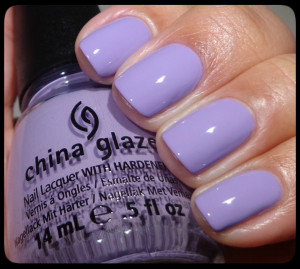 China Glaze Tart-y For The Party Swatch