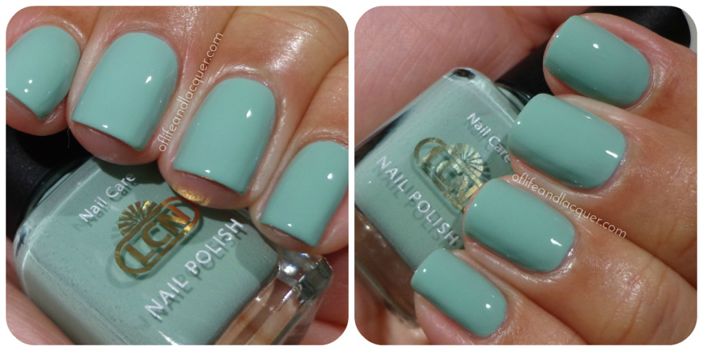 LCN I Love Mint Swatch