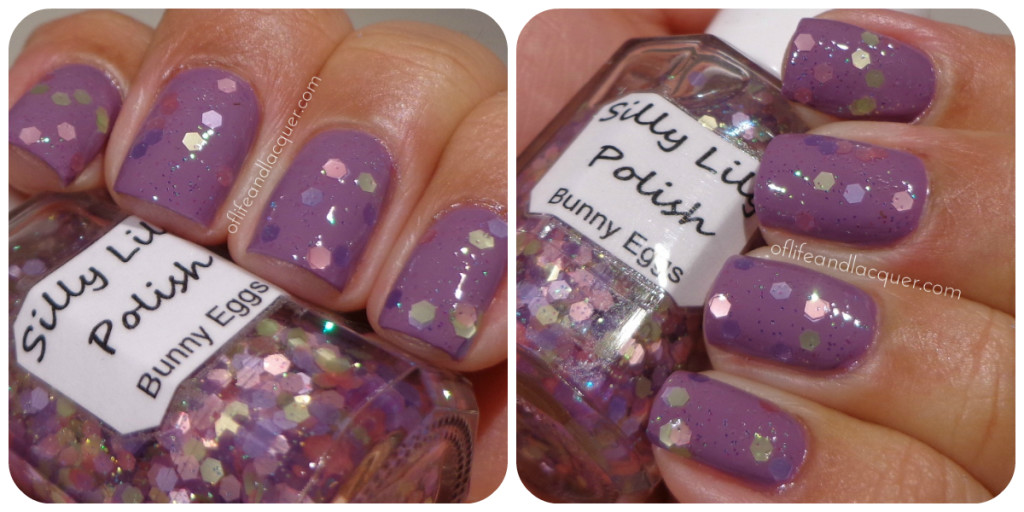 Silly Lily Bunny Eggs Swatch