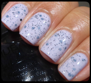 Nubar Black Polka Dot