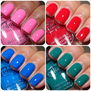 Color Club Fiesta Collection For Spring 2013