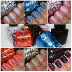 LAST CALL: Giveaway OPI Bond Girls Liquid Sand Minis