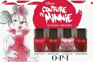 Winner Announced: OPI Couture de Minnie Minis