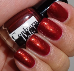 Contrary Polish Blood Orange 2