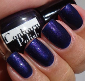 Contrary Polish Indigo Rose 2